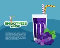 Verse smoothie Royalty-vrije Stock Afbeeldingen