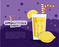 Verse smoothie Royalty-vrije Stock Foto