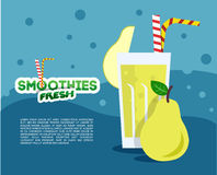 Verse smoothie Royalty-vrije Stock Afbeelding