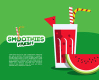 Verse smoothie Stock Foto's