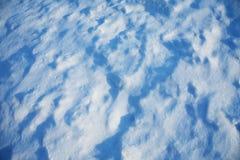 Verse sneeuw Royalty-vrije Stock Afbeelding