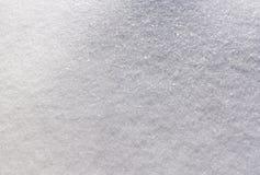 Verse sneeuwoppervlakte Royalty-vrije Stock Fotografie