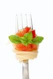 Verse spaghettideegwaren Royalty-vrije Stock Afbeeldingen