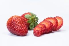 Verse srawberries Stock Afbeelding