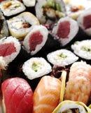 Verse sushi Royalty-vrije Stock Afbeeldingen