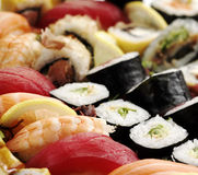 Verse sushi Stock Foto's