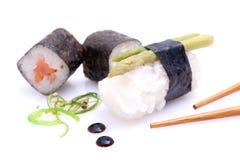 Verse sushi Stock Afbeelding