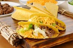 Verse taco's stock afbeelding