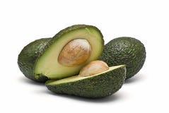 Verse te eten avocado's. Royalty-vrije Stock Foto's