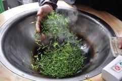 Verse thee die worden gemaakt Royalty-vrije Stock Fotografie