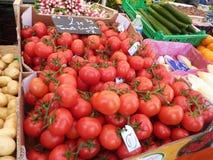 Verse tomaten royalty-vrije stock foto's