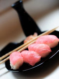 Verse tonijnsushi Stock Foto's