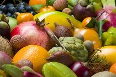 Verse tropische vruchten royalty-vrije stock fotografie