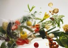 Verse vegetables_ Stock Afbeelding