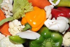 Verse veggies Royalty-vrije Stock Afbeeldingen