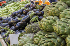 Verse vgetables voor verkoop! Royalty-vrije Stock Afbeeldingen