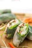 Verse Vietnamese de Lentebroodjes Royalty-vrije Stock Afbeeldingen