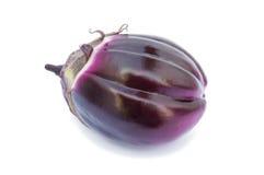 Verse violette aubergine royalty-vrije stock afbeeldingen