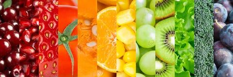 Verse voedselachtergrond stock afbeelding