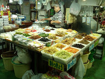 Verse Voedselmarkt in Japan Stock Fotografie