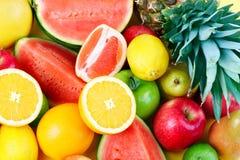 Verse vruchten. royalty-vrije stock afbeeldingen