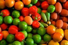 Verse Vruchten & Groenten Stock Foto's