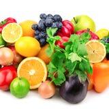 Verse vruchten en groenten Royalty-vrije Stock Foto