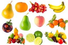 Verse vruchten groenteninzameling Royalty-vrije Stock Afbeeldingen