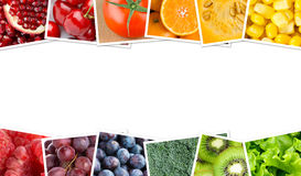 Verse vruchten en groenten Stock Foto