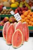 Verse watermeloen Royalty-vrije Stock Foto's