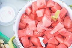 Verse watermeloen Royalty-vrije Stock Afbeeldingen