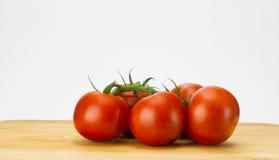 Verse wijnstok gerijpte tomaten Royalty-vrije Stock Afbeelding