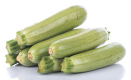 Verse witte courgette royalty-vrije stock afbeelding