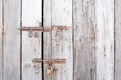 Verse on wooden door. Verse on wooden old door Royalty Free Stock Images