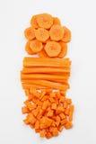 Verse wortelen Royalty-vrije Stock Foto's