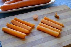 Verse wortelen en stokkenlandschapskant wijd Royalty-vrije Stock Foto