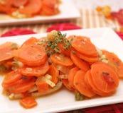 Verse wortelenhutspot Royalty-vrije Stock Fotografie