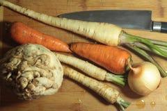 Verse wortels Royalty-vrije Stock Afbeelding
