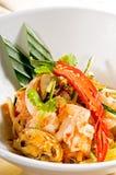 Verse zeevruchten Thaise salade royalty-vrije stock afbeelding