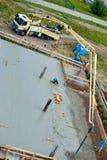versement de chantier de construction Photo libre de droits