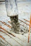 versement de chantier de construction Images libres de droits