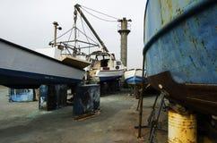 Versenden Sie in einer Werft, die für wighting ist, generalüberholen Jaffa Stockfoto