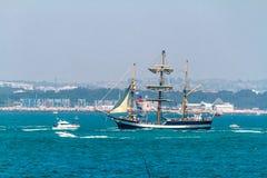 Versenden Sie Pelikan von London lizenzfreie stockfotografie