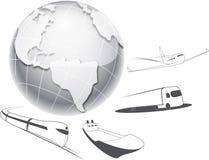 Transport und Logistik Lizenzfreies Stockbild