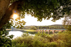 Versetalsperre dam germany. The versetalsperre dam in germany Royalty Free Stock Photo