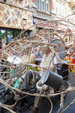 Verseuchen Sie während Zinneke-Parade Stockfoto