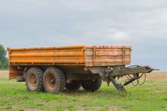 Verseur pour le tracteur Images stock