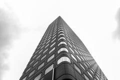Versión blanco y negro de Hong-Kong, China Fotografía de archivo