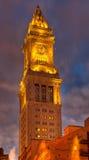 Versión de HDR de las aduanas de Boston Foto de archivo libre de regalías