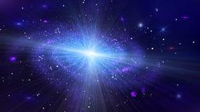 Versión lenta de la galaxia del espacio profundo libre illustration